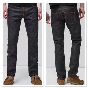 Nudie Jeans Co Dude Dan Dry Comfort Dark Jeans